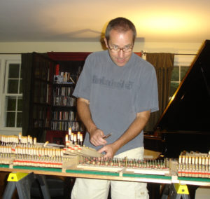 Fixing my piano