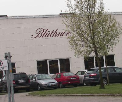 Bluthner factory, Leipzig