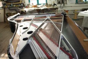 Carbon fiber soundboard