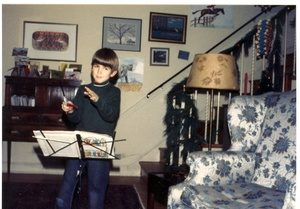 Alex Ross conducting