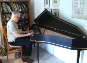 Another harpsichord to a happy home