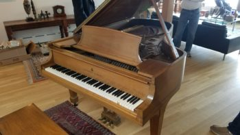 Steinway B in walnut for sale